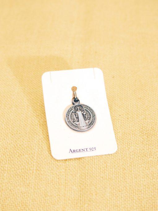 Benediktusmedaille klein (Silber)