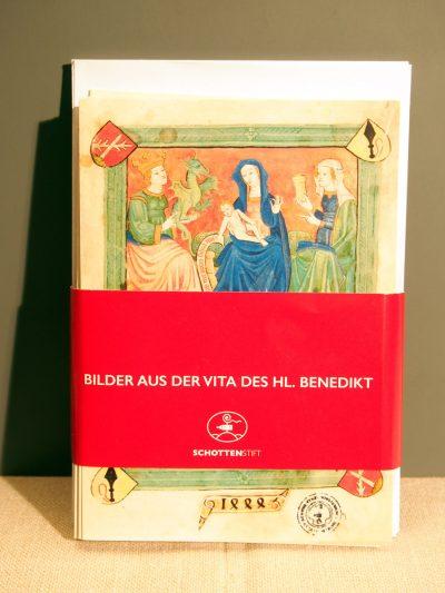 Vita des Hl. Benedikt Billet-Set